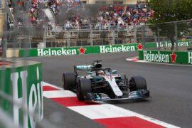 Formula One - Mercedes-AMG Petronas Motorsport, Azerbaijan GP 2018. Lewis Hamilton