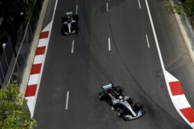 Formula One - Mercedes-AMG Petronas Motorsport, Azerbaijan GP 2018. Lewis Hamilton Valtteri Bottas