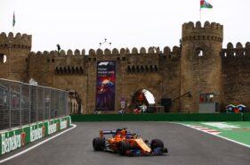 Baku City Circuit, Baku, Azerbaijan 2018. Fernando Alonso, McLaren MCL33 Renault.