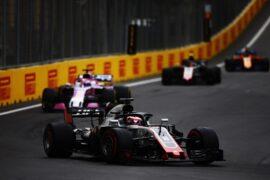 Romain Grosjean Haas Azerbaijan GP F1/2018