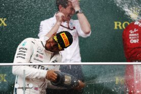Lewis Hamilton winner Azerbaijan GP F1/2018