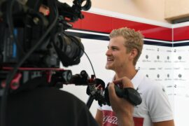 Marcus Ericsson Sauber F1 Team talks with the media at Formula One World Championship, Rd2, Bahrain Grand Prix, Preparations, Bahrain International Circuit, Sakhir, Bahrain 2018.