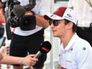 Charles Leclerc Sauber F1 Team at the autograph session at Chinese Grand Prix 2018.