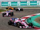 Esteban Ocon (FRA) Sahara Force India F1 VJM11. Chinese Grand Prix, Sunday 15th April 2018. Shanghai, China.