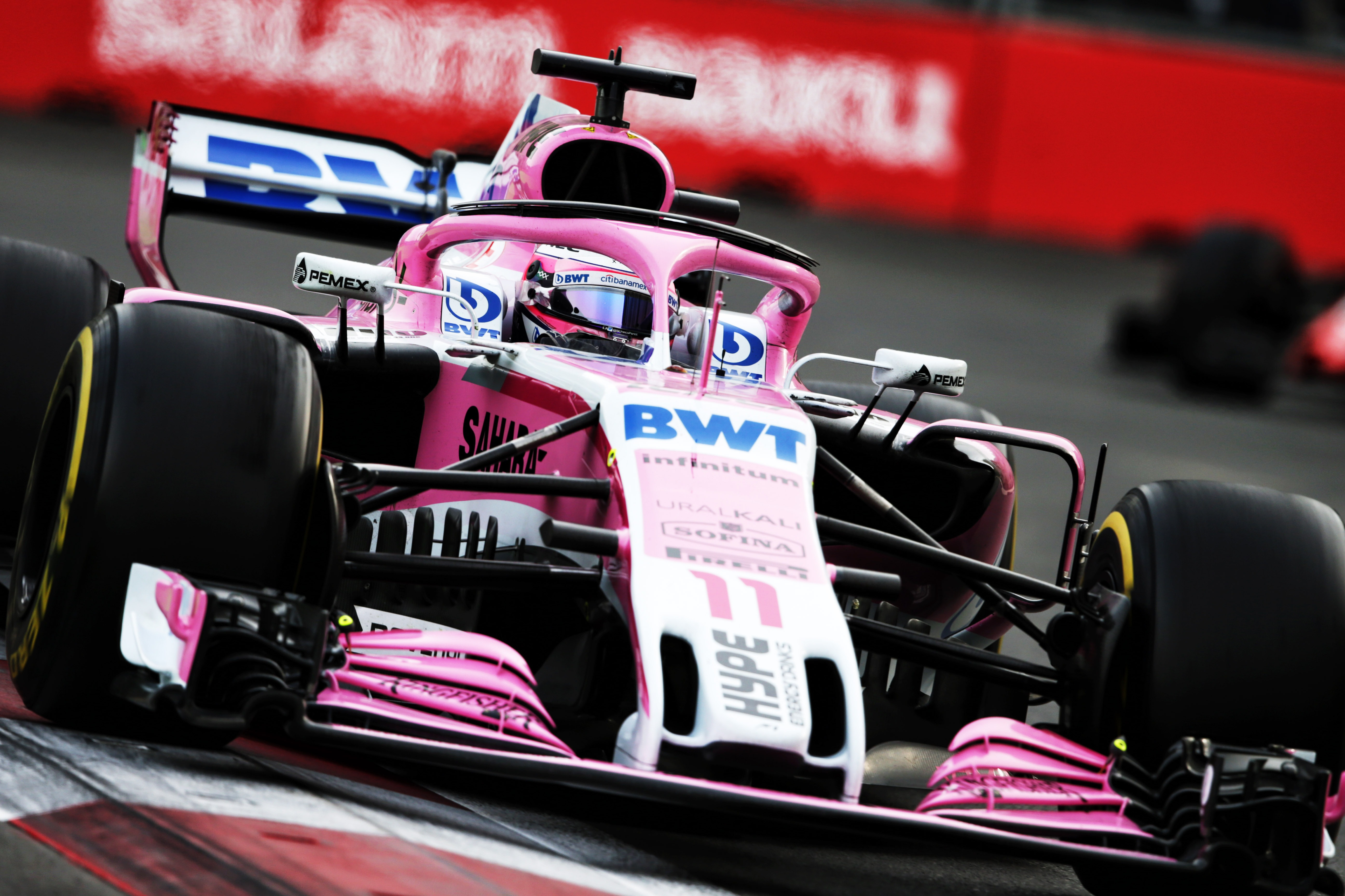 Force India not confirming end of pink livery
