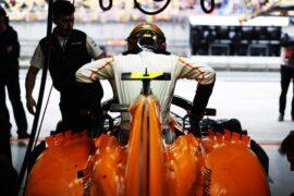 Stoffel Vandoorne McLaren Chinese GP F1/2018