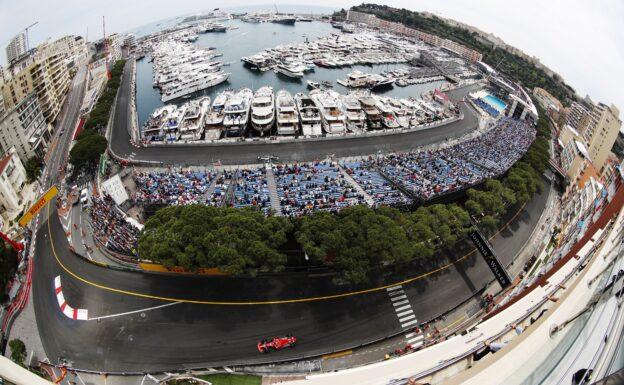 Sebastian Vettel Ferrari on track Monaco GP F1/2018.