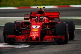 Kimi Raikkonen Ferrari Spanish GP F1/2018