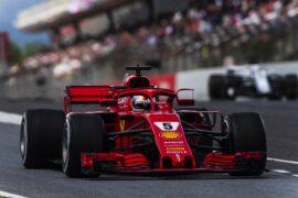 Sebastian Vettel Ferrari Spanish GP F1/2018