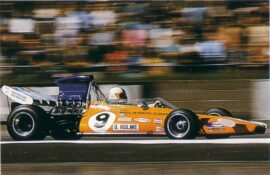 Denny Hulme, McLaren M19, Silverstone UK (1971)