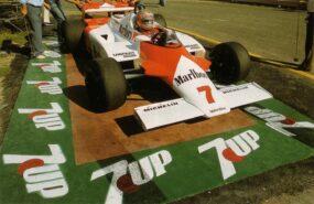 John Watson, McLaren MP4/1, 1981 San Marino GP