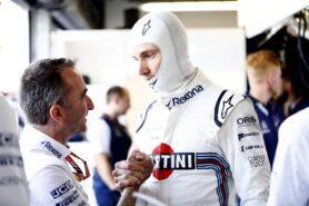 Monte Carlo, Monaco Saturday 26 May 2018. Paddy Lowe, Williams Martini Racing Formula 1, with Sergey Sirotkin, Williams Racing.
