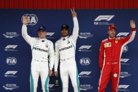 Qualifying results 2018 Spanish F1 Grand Prix