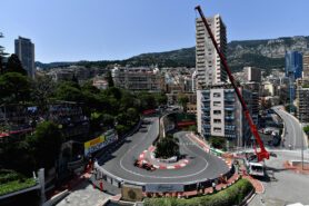 Daniel Ricciardo of Australia driving the Red Bull Racing RB14 TAG Heuer on track during qualifying for the Monaco Formula One Grand Prix 2018.