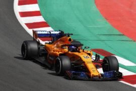 Circuit de Barcelona-Catalunya, Spain. Sunday, 13 May 2018. Fernando Alonso, McLaren MCL33 Renault.
