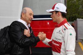 Charles Leclerc & Peter Sauber Spanish GP F1/2018