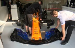 New McLaren MCL33 nose