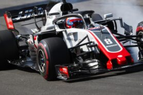 Romain Grosjean Haas Spanish GP F1/2018