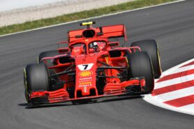 Lap times 1st practice 2018 Spanish F1 Grand Prix