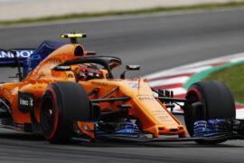 Circuit de Barcelona-Catalunya, Spain. Sunday, 13 May 2018. Stoffel Vandoorne, McLaren MCL33 Renault.