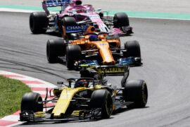 Carlos Sainz Jr (ESP) Renault Sport F1 Team RS18. Spanish Grand Prix, Sunday 13th May 2018. Barcelona, Spain.