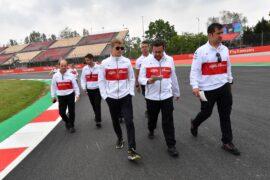 Marcus Ericsson Sauber F1 Team walks the track at Formula One World Championship Spanish Grand Prix 2018
