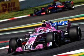 Esteban Ocon (FRA) Sahara Force India F1 VJM11. Spanish GP F1/2018.