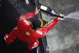 Sebastian Vettel Ferrari winner Canadian GP F1/2018