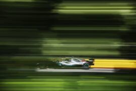 Lewis Hamilton Mercedes Canadian GP F1/2018