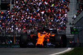 Stoffel Vandoorne McLaren Canadian GP F1/2018