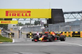 Max Verstappen & other drivers on track Canadian GP F1/2018