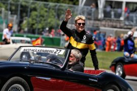 Nico Hulkenberg (GER) Renault Sport F1 Team on the drivers parade. Canadian Grand Prix, Sunday 10th June 2018. Montreal, Canada.