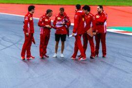 Sebastian Vettel Ferrari Austrian GP F1/2018