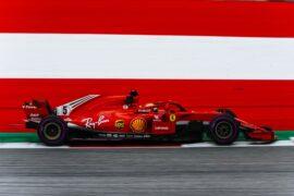 Sebastian Vettel Ferrari Austria GP F1/2018