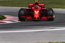 Kimi Raikkonen Ferrari Canadian GP F1/2018