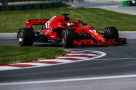 Sebastian Vettel Ferrari Canadian GP F1/2018
