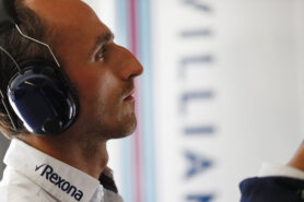 Kubica eyes Ferrari role as 2019 'plan B'