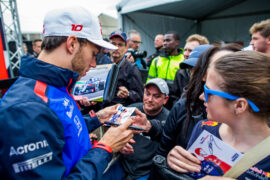 Pierre Gasly of Scuderia Toro Rosso during previews ahead of the Canadian Formula One Grand Prix 2018
