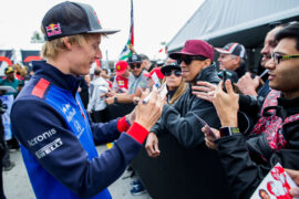 Brendon Hartley of Scuderia Toro Rosso during previews ahead of the Canadian Formula One Grand Prix 2018