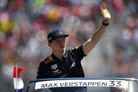 Max Verstappen of Red Bull Racing on the drivers parade before the Canadian Formula One Grand Prix 2018