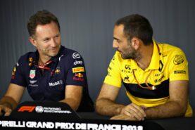 Renault hits back at Red Bull fury
