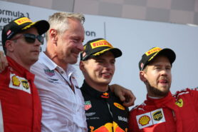 Race results 2018 Austrian F1 grand prix
