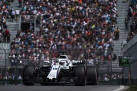 Circuit Gilles-Villeneuve, Montreal, Canada 2018. Lance Stroll, Williams FW41 Mercedes.