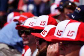 Circuit Gilles-Villeneuve, Montreal, Canada Sunday 10 June 2018. Fans of Lance Stroll, Williams Racing.