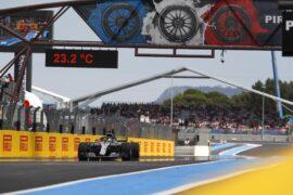 Formula One - Mercedes-AMG Petronas Motorsport, French GP 2018. Lewis Hamilton