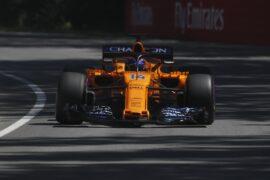 Circuit Gilles-Villeneuve, Montreal, Canada 2018 Fernando Alonso, McLaren MCL33 Renault.