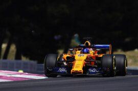 Circuit Paul Ricard, Le Castellet, France 2018 Fernando Alonso, McLaren MCL33 Renault.