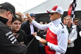 Marcus Ericsson Sauber F1 Team signs autographs for the fans at Formula One World Championship Canadian Grand Prix 2018