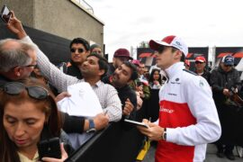 Charles Leclerc Sauber F1 Team fans selfie at Formula One World Championship Canadian Grand Prix 2018
