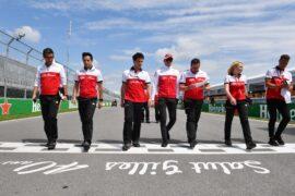 Marcus Ericsson Sauber F1 Team walks the track at Formula One World Championship Canadian Grand Prix 2018